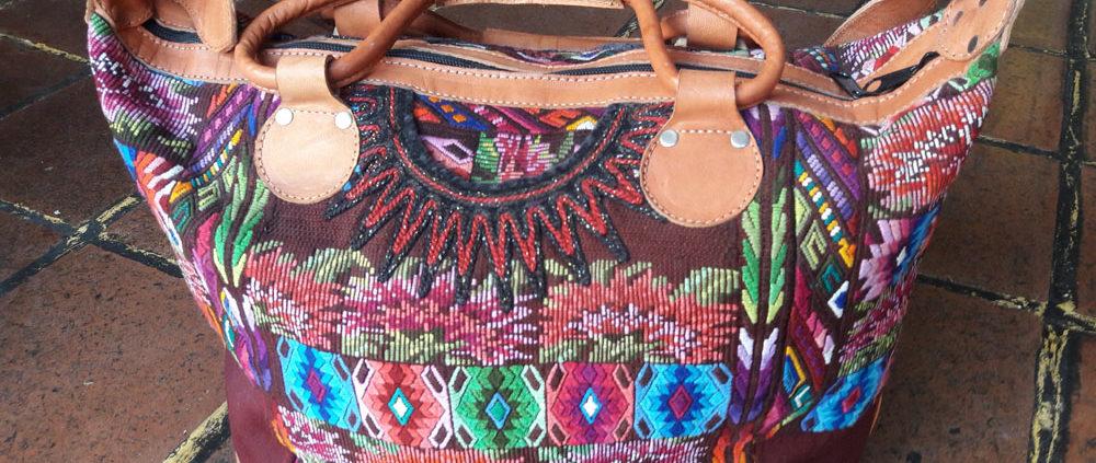 Guatemalan Handmade Huipil Bag