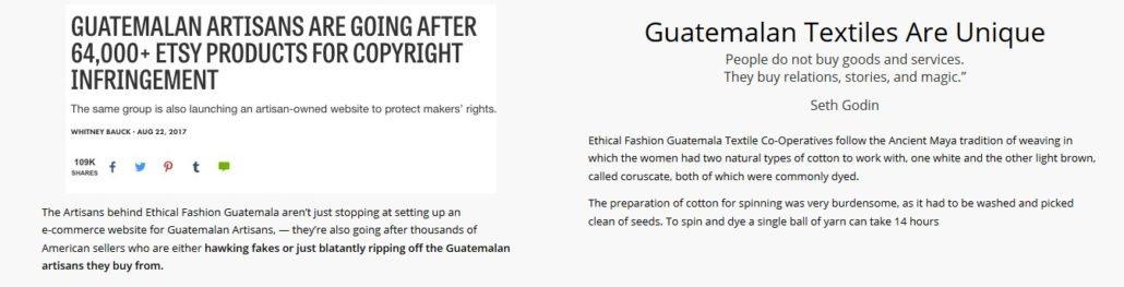 Guatemala Empower Female Mayan Artisans