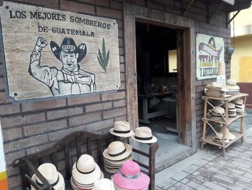 Guatemala Handmade Palm Hats
